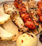 Skewers Chicken Kabob